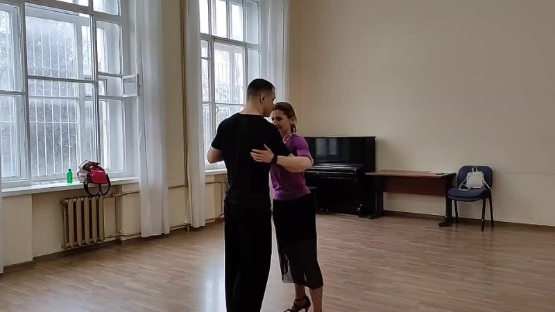 Дерябина Ольга. Урок у Сергея Анисимова