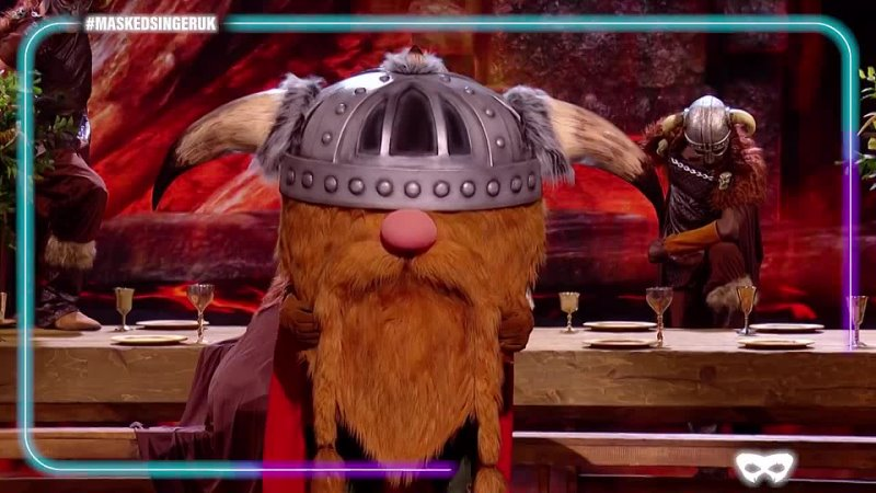 Viking Performs Watermelon Sugar by Harry Styles Season 2 Ep 4 The Masked Singer UK