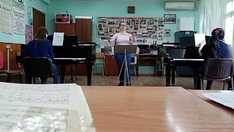 Баллада Море сл. А. Бородина, перелож. для хора Вик. Калинникова