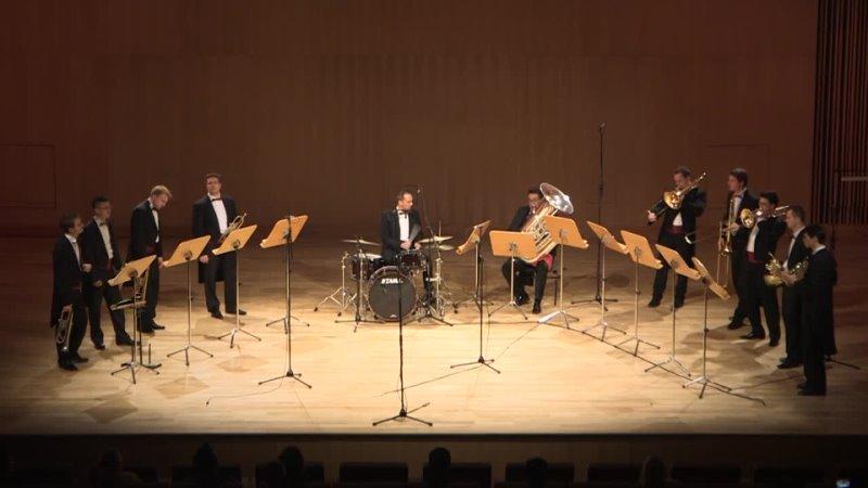 Qatar Philharmonic Brass Henry Mancini Peter Gunn Theme