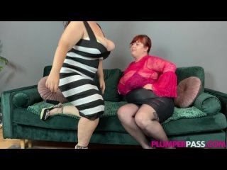 Две толстушки лесбиянки |  Зрелки | Мамки | Попы | BBW