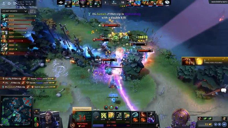 [NoobFromUA] EG vs SECRET - MOST EPIC GAME - TI9 THE INTERNATIONAL 2019 DOTA 2