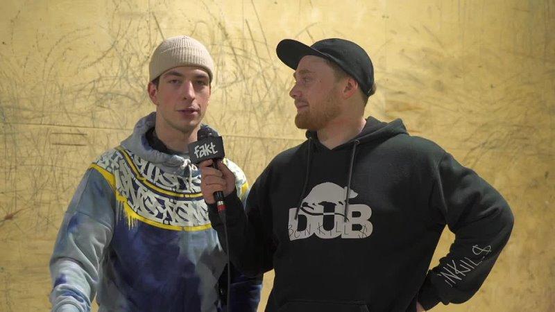 [Fakt Bmx] WINTERING BMX BATTLE - Артем Агарков VS Руслан Турк