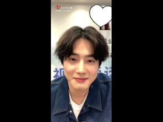 200425 EXO Suho @ Self-Portrait Video Call Online Fansign