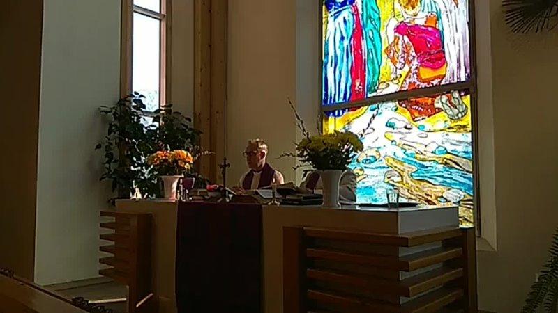 Пальмовое (вербное) воскресенье в колтушской кирхе 28.03.21