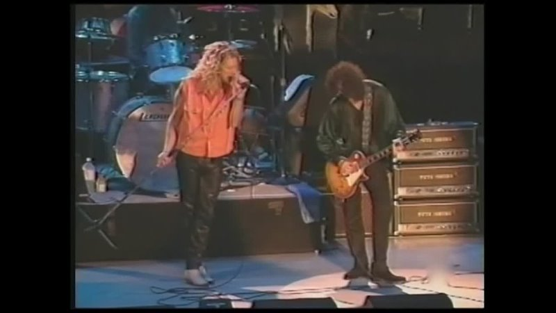 Jimmy Page and Robert Plant Milwaukee and Irvine 1995 disk 2