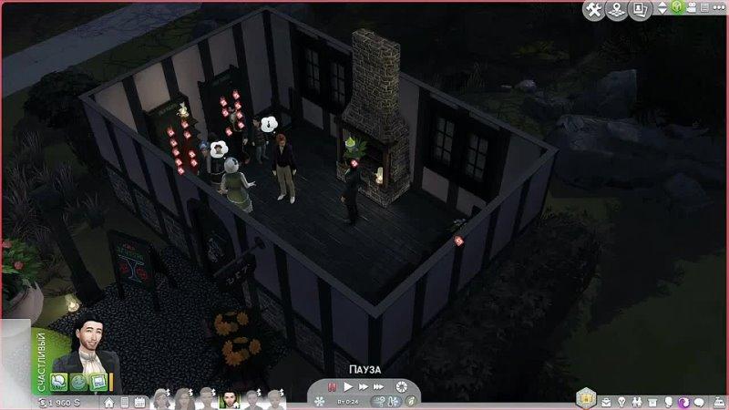 Dariya Rain ЖЕСТОКИЙ ВАМПИР ДРАКУЛА The Sims 4 Симс 4 САГА О ВАМПИРАХ