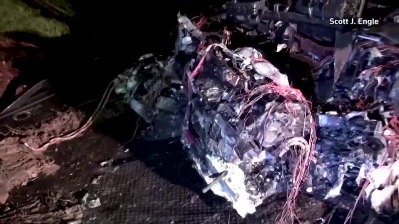 Очередное скандальное ДТП 2 убитых с участием экомобиля Tesla
