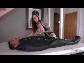 Femdom - Rocky Emerson - Good Slaves Get Milked (Femdom, Milking, Handjob, Cumshots, FaceSitting, Stockings, Bondage, Cum Eating
