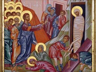 Проповедь в Лазареву субботу