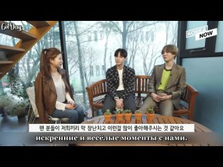 JUS2 - Интервью с Korean Unnie (русс. саб)