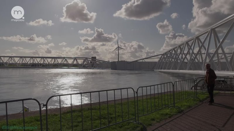 Дельты великих рек Рейн и Маас Долина каналов Познавательный природа путешествие 2018