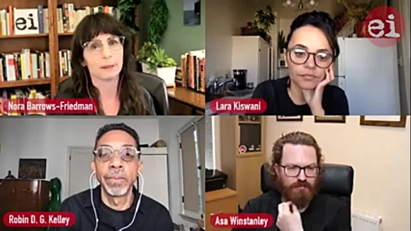 Israel lobbys war on ethnic studies with Robin D. G. Kelley and Lara Kiswani _ EI Podcast ( 240 X 426 ).mp4
