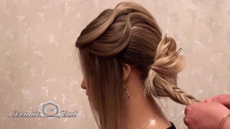 Hairstyle topuz sacduzumu прическа topuz hairstyles