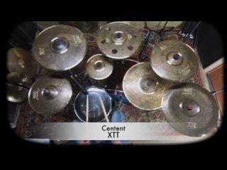 Centent cymbals XTT series B20 promo set