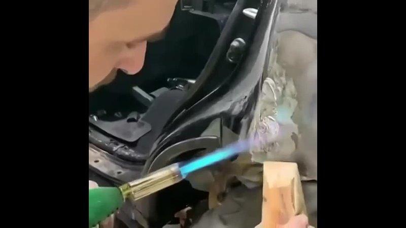 Забытый способ кузовного ремонта