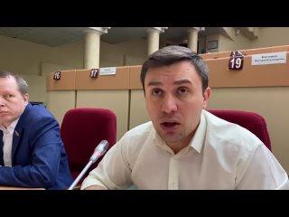 Коммунист Николай Бондаренко обличает политику геноцида оккупационного режима