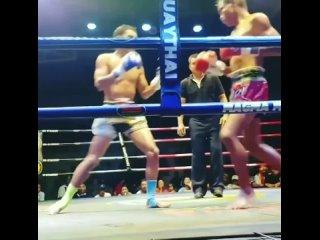 Жесткий тайский бокс