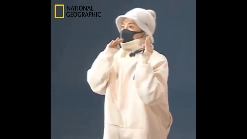 Hoseok on national geographic