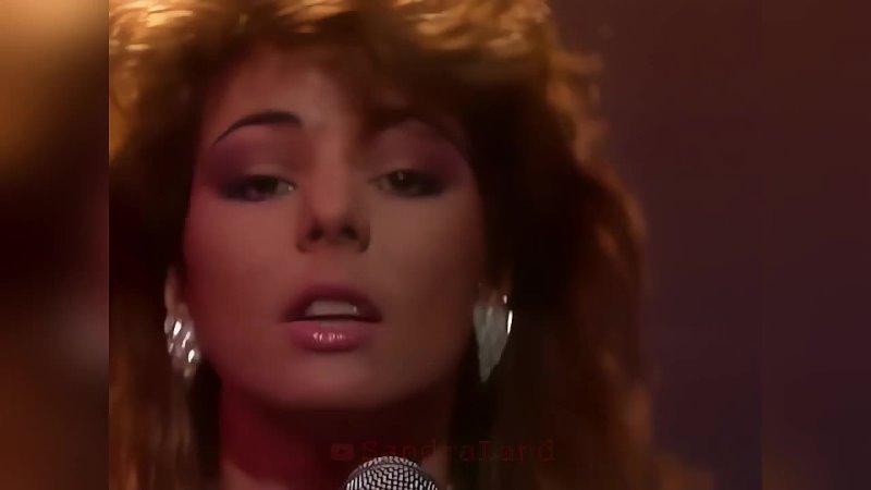 Sandra In the Heat of the Night Schoolplein Netherlands 1985 4K