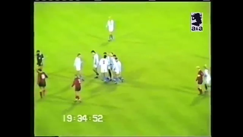 ЦСКА Москва - Викингур 4-2. Лига Чемпионов 199293 - 116 финала