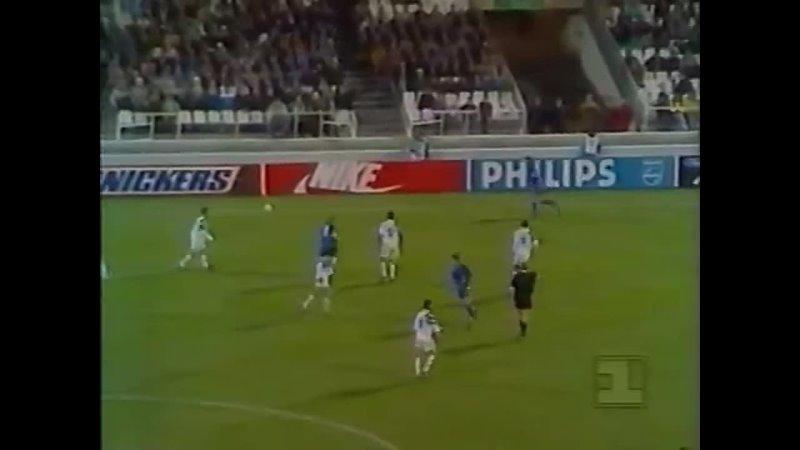 4 тур.Лига Чемпионов 1992-1993. Олимпик (Марсель)6 - 0 ЦСКА (Москва)