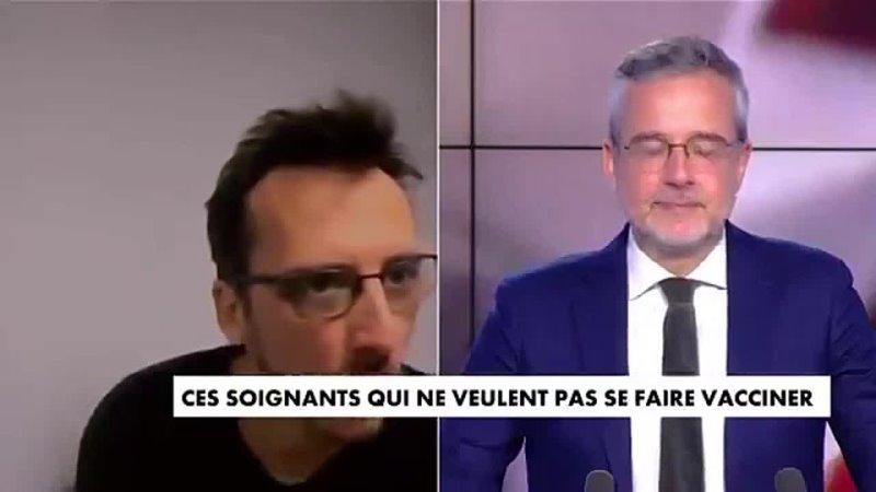 Le Dr Louis Fouché à un journaliste de CNews Je vais essayer de visser