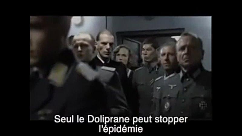 Hitler pulvérise le Professeur Raoult façon puzzle