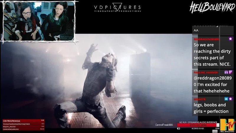 Маттео и Кьяра о съёмках видео Стрим на Twitch 20 03 2021 г Full Metal Whore
