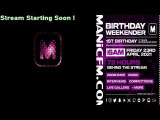 MANIC FM BREAKFAST // F-SWIFT  - Manic FM 1st Birthday