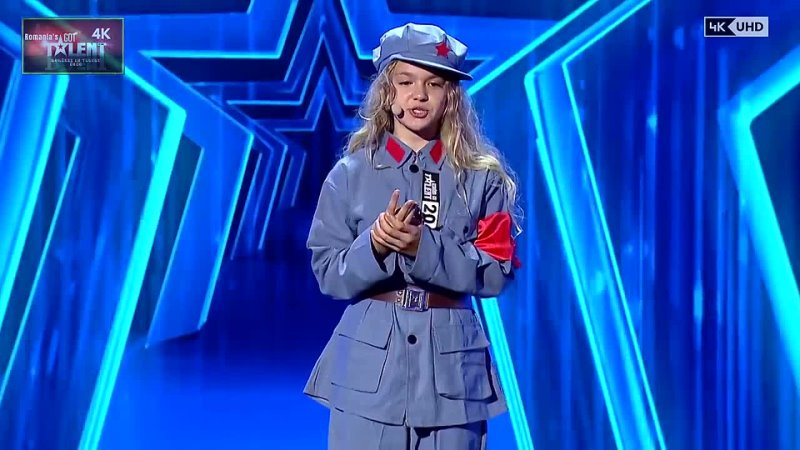 V 1-1 Siena Vuscan Kids Singer OPERA The Romania Got Talent 2020 Golden 4K UHD