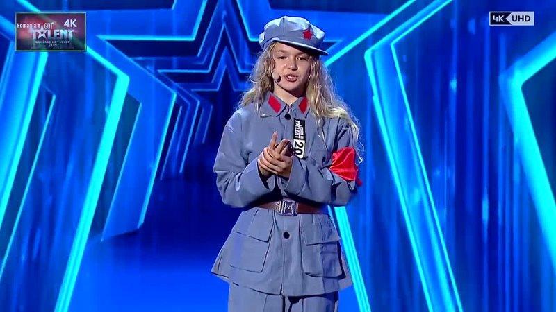 V 1-1 Siena Vuscan Kids Singer OPERA The Romania Got Talent 2020 Golden 4K UHD