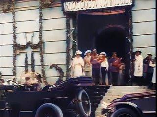 Николай II и царская семья в Евпатории. Крым. 1916 г. Кинохроника в цвете.mp4