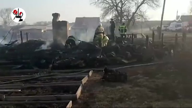 Ужас Пять детей сгорели в глухой деревне