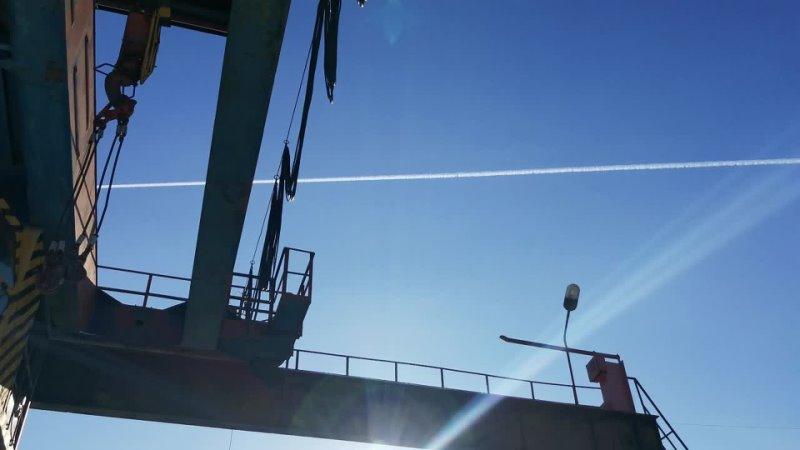 Альметьевск. Химтрейл .12 Февраля. S7 Airlines Moscow-UFA Airbus A 320-271N (VQ-BTL) 20210212_130125
