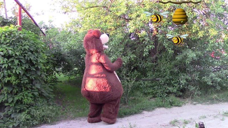МИШКА И МЁД Как медведь за мёдом ходил Весёлая история BEAR AND HONEY Like a bear for honey went
