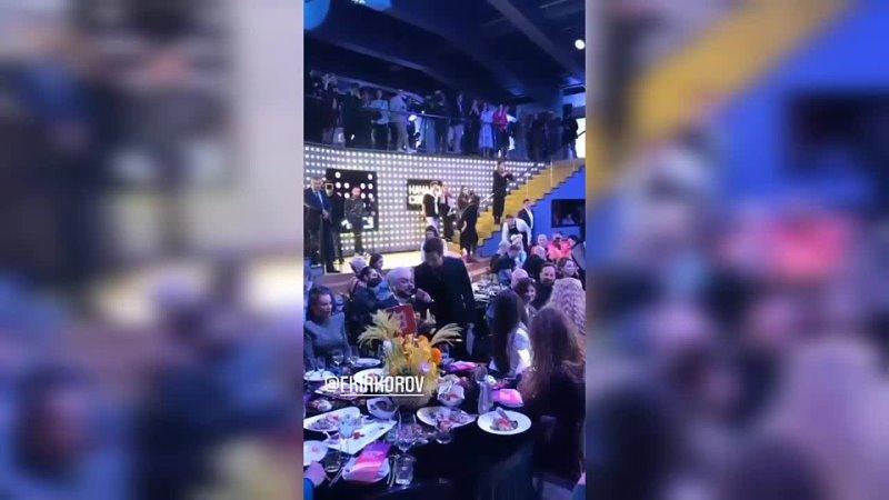Ани Лорак и Филипп Киркоров на гала ужине Премии Муз ТВ 2021