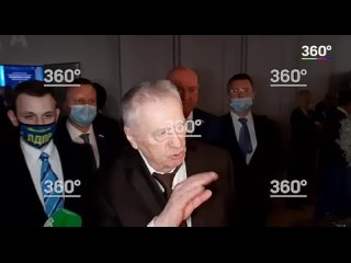 Жириновский прошелся по Зеленскому, который предложил Путину встретиться в Донбассе