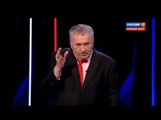 Жириновский воет на ТВ
