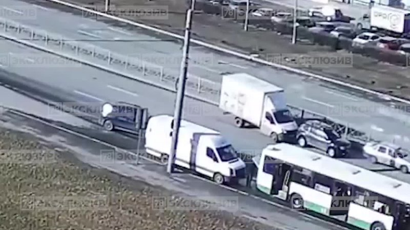 Авария на проспекте Большевиков