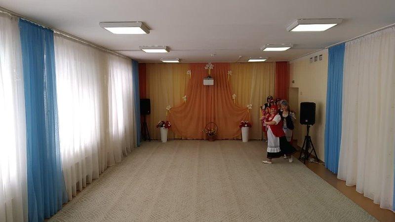 Ансамбль Голубка детский сад №112 танец Пряха