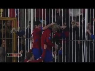 "Милош Красич (ЦСКА) - гол ""Бешикташу"", сезон 2009/10"