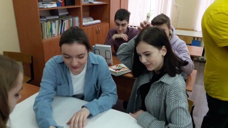 Встреча Коробовой О В уполномоченного по правам ребенка в Калужской области с выпускниками 9 х классов 02 04 2021