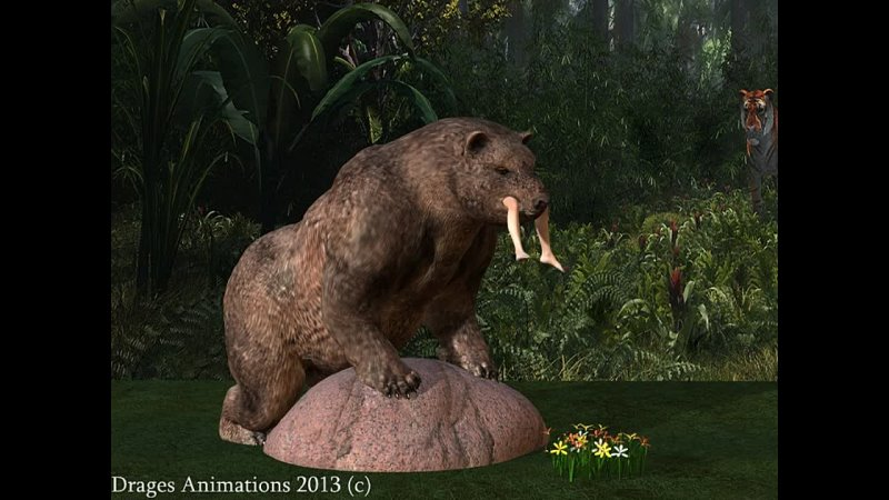 Bear vore