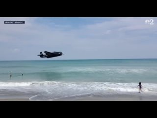 Падение торпедоносца Grumman TBF Avenger на авиашоу Cocoa Beach Air Show