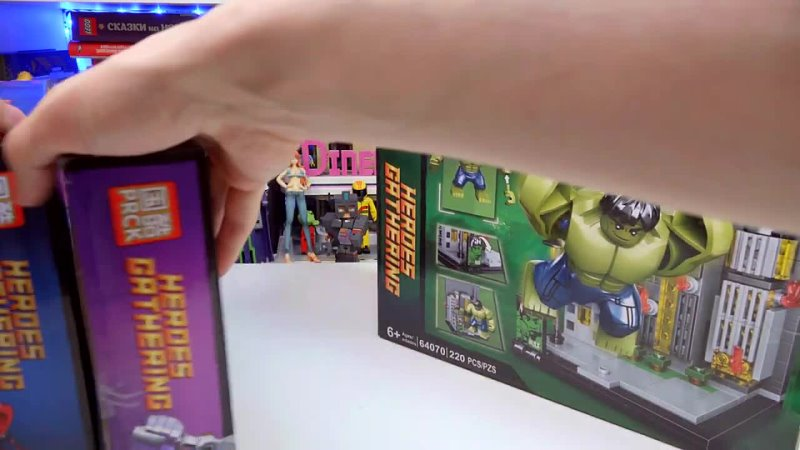 Shiro Geek World LEGO MARVEL Эксклюзивы Comic Con только они из Китая