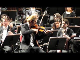 DAVID GARRETT - exceptional cadenza (Brahms violin concerto)