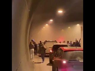 ДТП Москва - Лефортовский дым