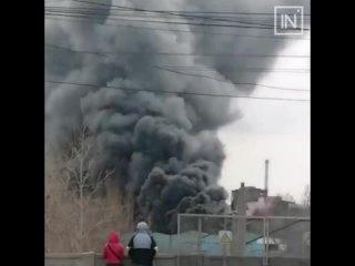 Пожар на Уралмаше