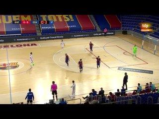 Primera RFEF Futsal 25 jornada Barsa - CA Osasuna Magna